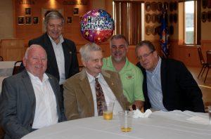L to R John Sullivan, Sal Greco, Bill Ellinger, Mike Boufis, John Coumtaos BWD DSC_0079