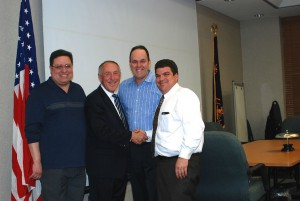 Andy Bader, Mike Ingham, Thomas Hand, Vin Abbatiello