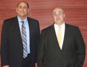 Thomas J. Ruggiero (L) and Joseph C. Ferreira (R)