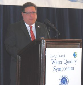 Andy Bader at LIWC Water Quality Symposium
